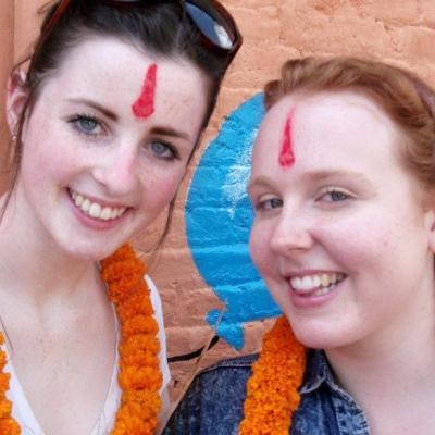 Michaela C in Nepal